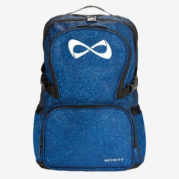 Nfinity backpack sparkle blue